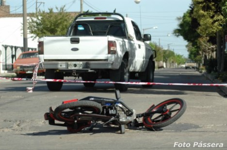 Diario La Noticia - Accidente en B. de Irigoyen y Gúemes