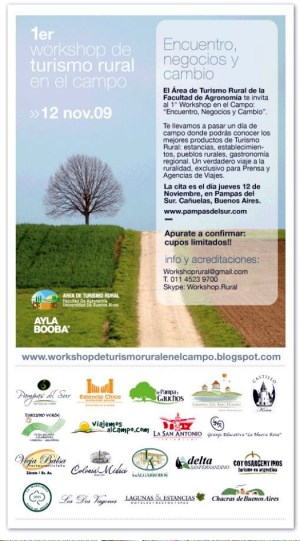 Diario La Noticia - 1º Workshop de Turismo Rural en el Campo.