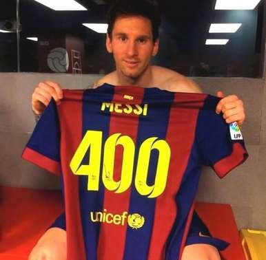 Diario La Noticia - 400 veces Messi